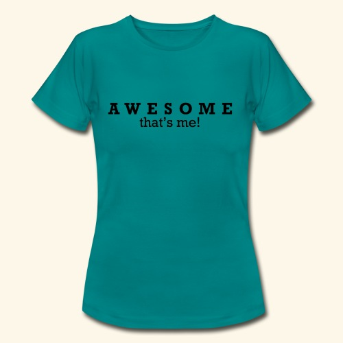 Awesome thstsme 01 - Dame-T-shirt