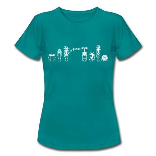 gambots family 02 - Frauen T-Shirt