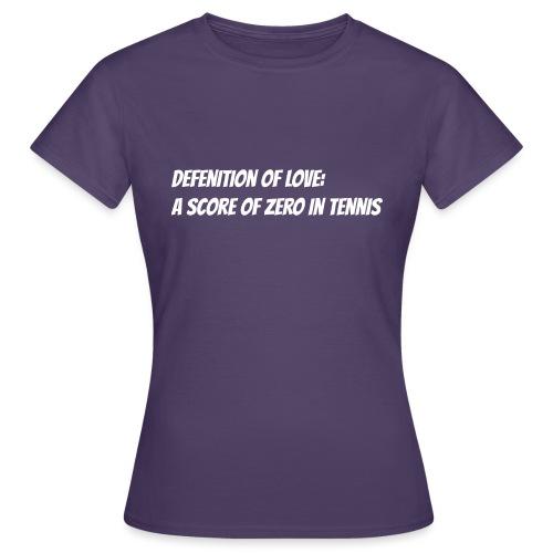 Tennis Love sweater woman - Vrouwen T-shirt