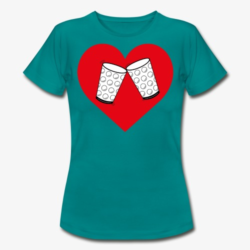 Schorle Liebe – Dubbegläser - Frauen T-Shirt