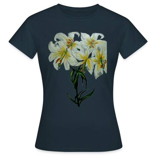 Lily painting - Women's T-Shirt