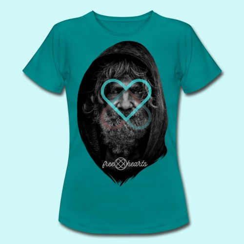 freehearts against poverty - Frauen T-Shirt