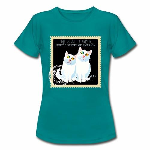 timbre usa - T-shirt Femme