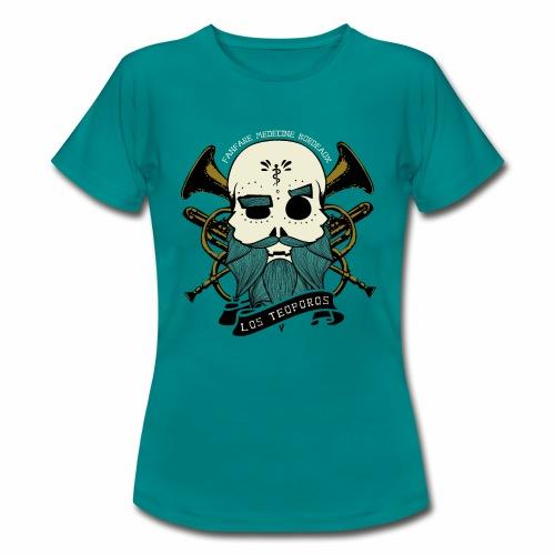 Los Teoporos Logo Pirate - T-shirt Femme