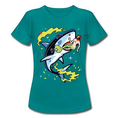 Requin mangeur de sirène - T-shirt Femme