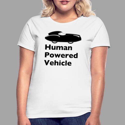 Quattrovelo Human Powered Vehicle black - Naisten t-paita
