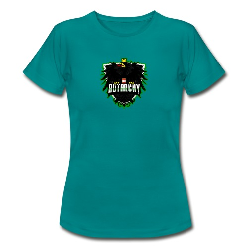 AUTarchy green - Frauen T-Shirt