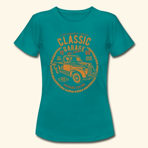 Classic Garage - Frauen T-Shirt
