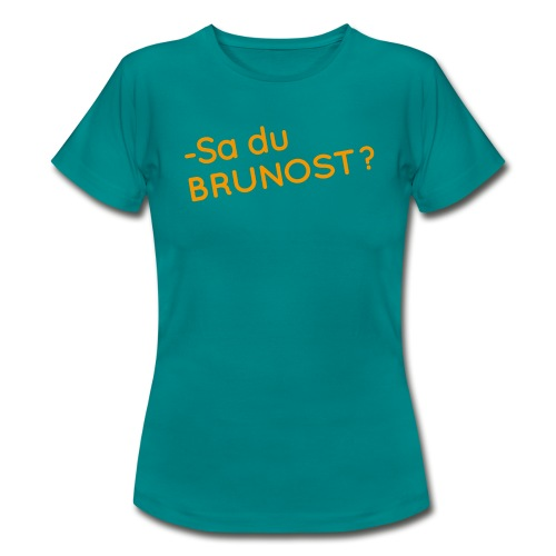 Brunost - T-skjorte for kvinner