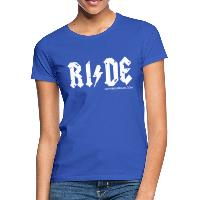 RIDE - Women's T-Shirt - royal blue