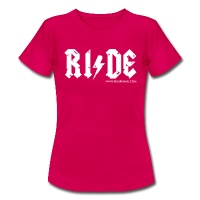RIDE - Women's T-Shirt - ruby red