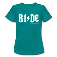 RIDE - Women's T-Shirt - diva blue