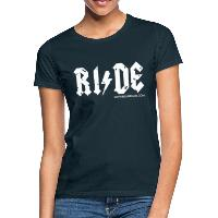 RIDE - Women's T-Shirt - navy