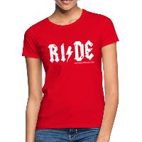 RIDE - Women's T-Shirt - red