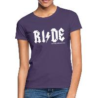 RIDE - Women's T-Shirt - dark purple