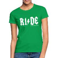 RIDE - Women's T-Shirt - kelly green