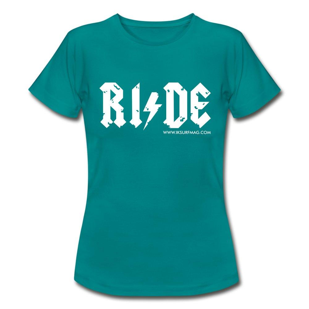 RIDE - Women's T-Shirt - diva blue