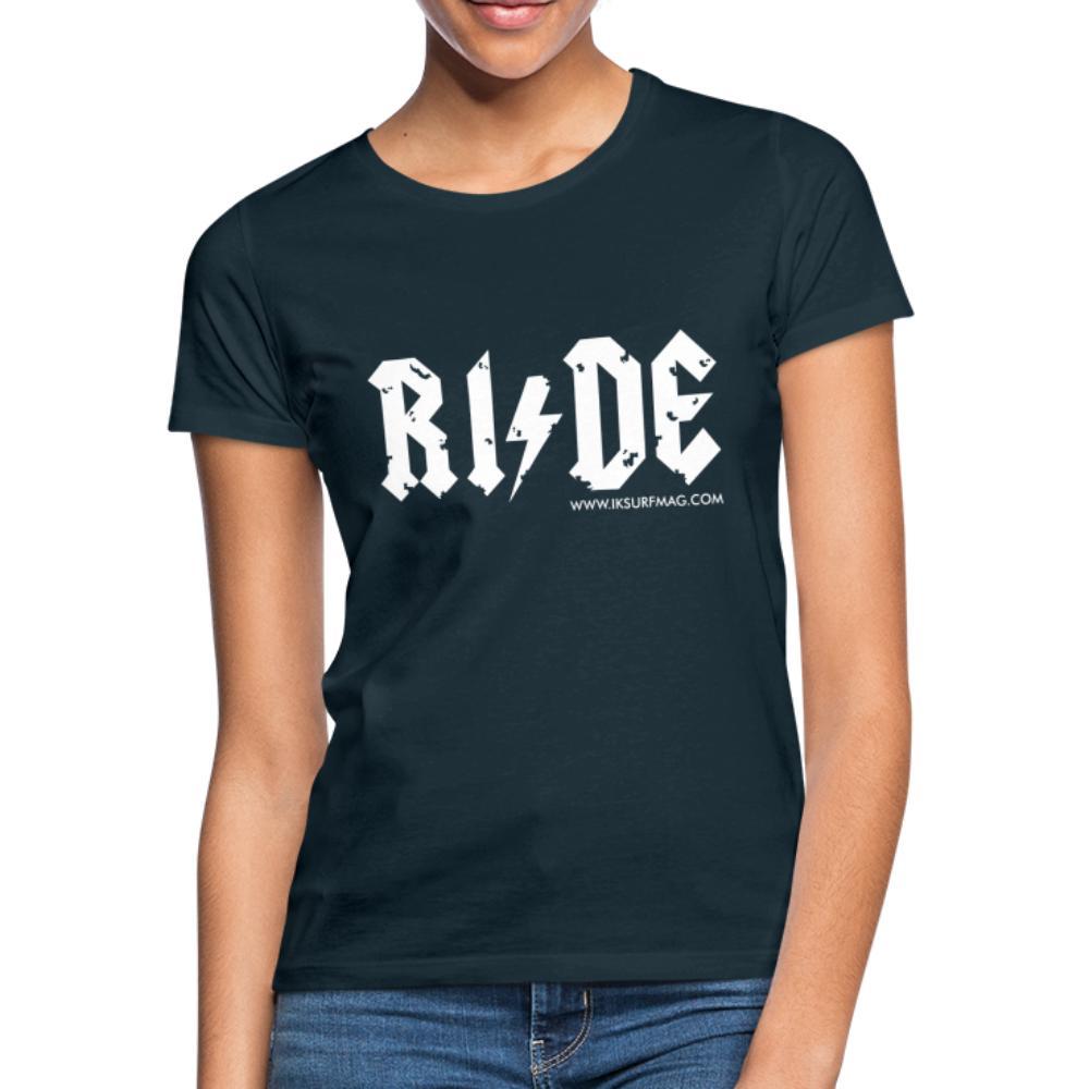RIDE - Women's T-Shirt - navy