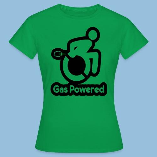 Gas Powered Wheelchair 001 - Vrouwen T-shirt