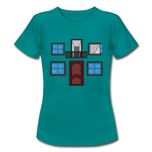 Window of the heart - Camiseta mujer