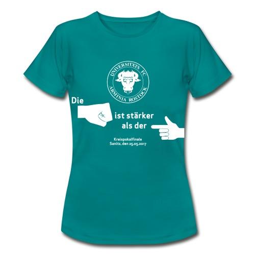 Pokalfinale 16 17 alles - Frauen T-Shirt