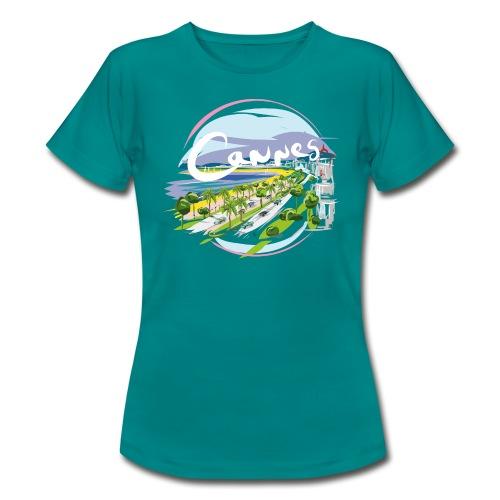 Ville de Cannes by Strob - T-shirt Femme