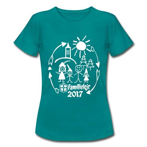 tshirtlogo-sw2017smallb - Dame-T-shirt