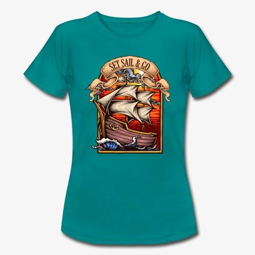 L'explorateur - T-shirt Femme
