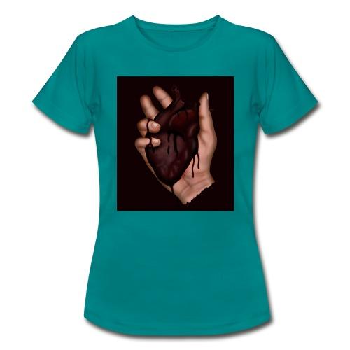 blood heart - Women's T-Shirt