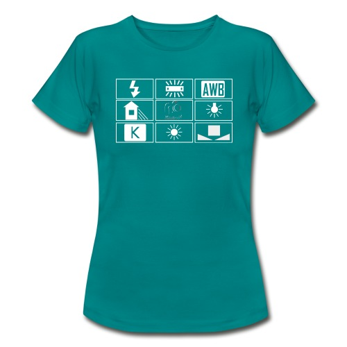 logo wb sombre png - T-shirt Femme