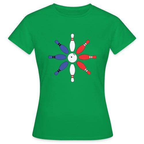 Roue de Quilles - T-shirt Femme