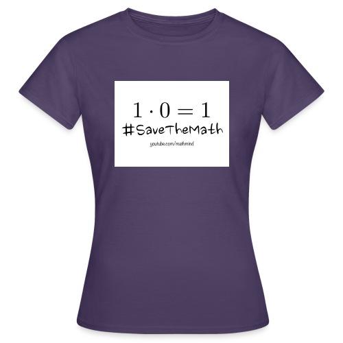 #SaveTheMath_1 - Maglietta da donna