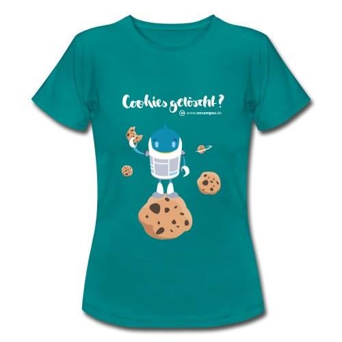 Cookies gelöscht - Frauen T-Shirt