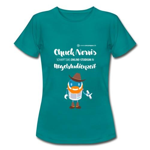 Online-Studium in Regelstudienzeit - Frauen T-Shirt