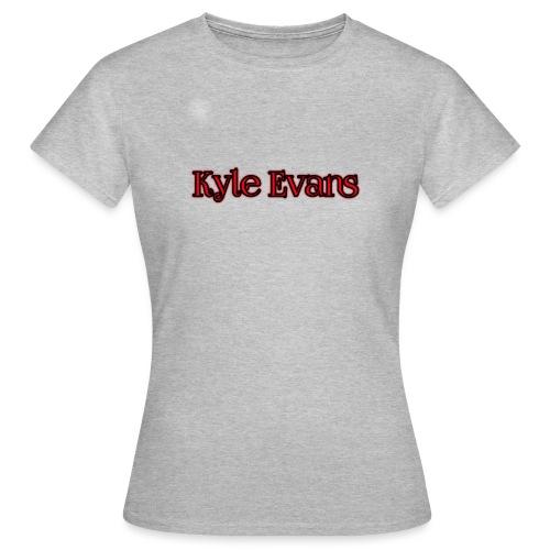 KYLE EVANS TEXT T-SHIRT - Women's T-Shirt