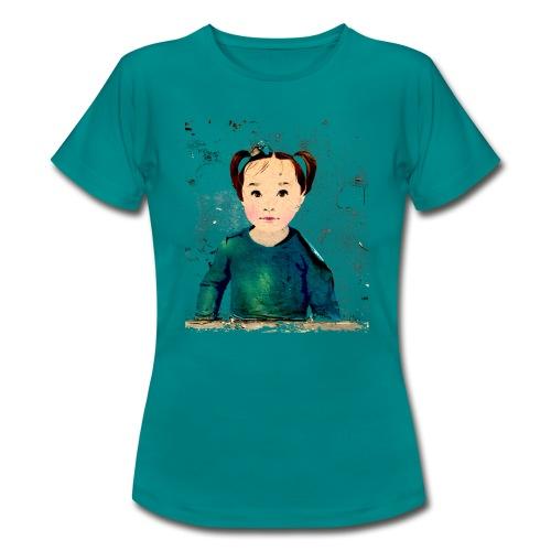 unknown girl - Frauen T-Shirt