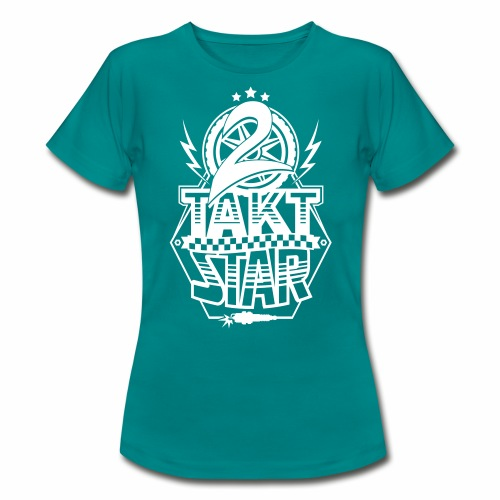 2-Takt-Star / Zweitakt-Star - Women's T-Shirt