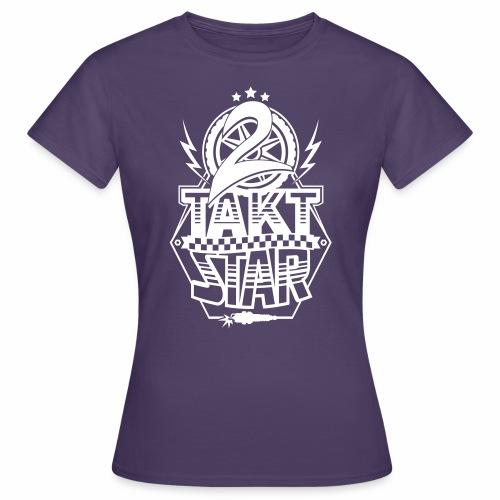 2-Takt-Star / Zweitakt-Star - Women's T-Shirt
