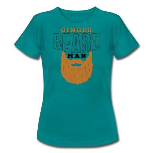 Beard Ginger Beard Man Redhead Gifts For Men - Frauen T-Shirt
