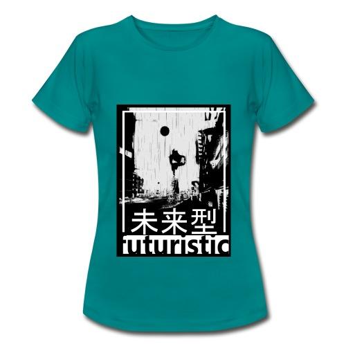 Futuristic - T-shirt Femme