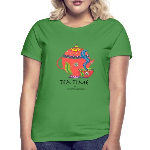 L'heure du thé - T-shirt Femme