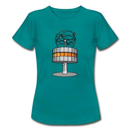 Weltzeituhr BERLIN c - Frauen T-Shirt