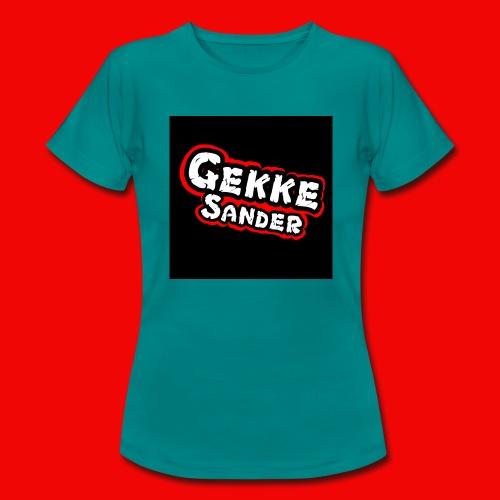 GekkeSander Logo - Vrouwen T-shirt