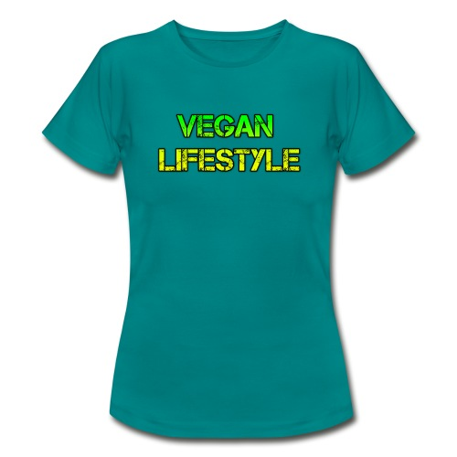 vegan lifestyle - Frauen T-Shirt