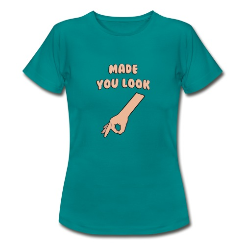 Made You Look Circle Game - Women's T-Shirt