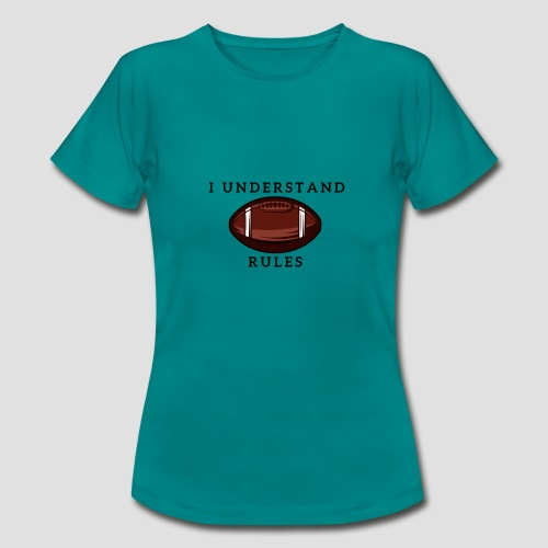 Football Rules T Shirt - Frauen T-Shirt