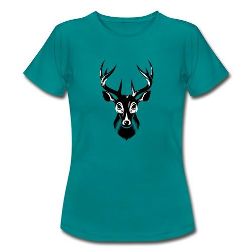 Hirsch Deer - Frauen T-Shirt