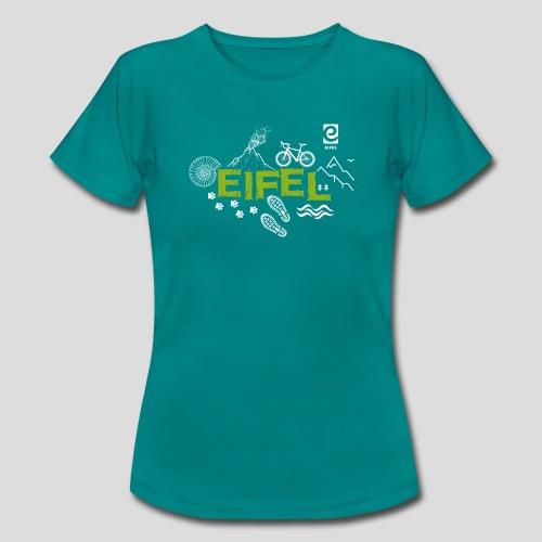 Eifelspuren - weiß - Frauen T-Shirt