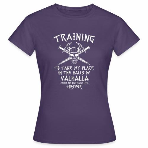 training for Valhalla - Camiseta mujer