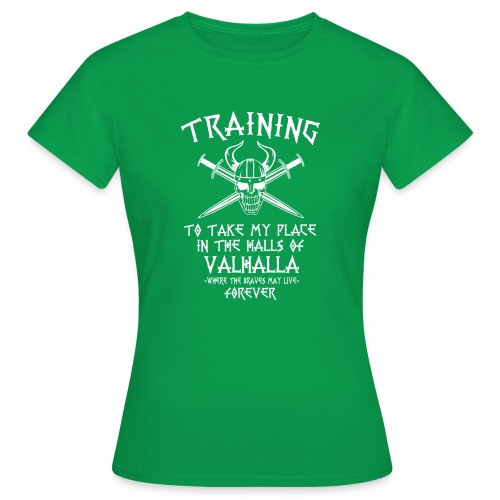 training for Valhalla - Camiseta mujer
